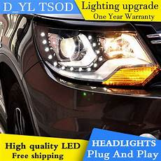 d yl car styling for vw tiguan headlights 2013 2015 tiguan