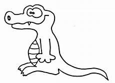 Malvorlage Krokodil Einfach Krokodile Wuschels Malvorlagen