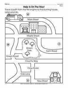 easy mapping worksheets 11537 help is on the way lesson plans the mailbox social studies worksheets kindergarten social