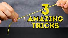 5 minuten tricks 3 easy magic tricks anyone can do l 5 minute crafts