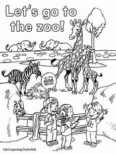 zoo animals coloring sheets 17463 reader bee characters carlos angela and enjoy their trip to the zoo children zoo