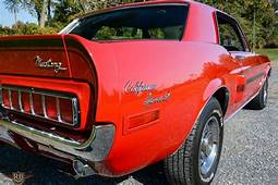1968 Ford Mustang California Special GT/CS For Sale