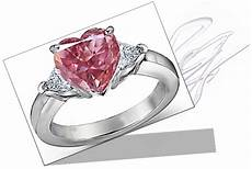 pink diamond engagement rings symbol of love and freshness