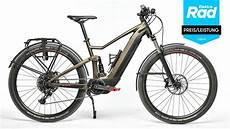 e bike trekking test auszeichnungen beim e bike test 2019 preis leistung und