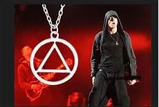 eminem illuminati necklace 10 eminem earrings eminem necklace slim shady hip hop