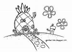 Mewarnai Rumah Spongebob Belajar Mewarnai