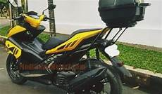 Aerox 155 Modif Touring by Gambar Modifikasi Yamaha Aerox 155 Touring Modifikasimotorz