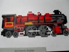 1000  Images About Trains On Pinterest Perler Beads