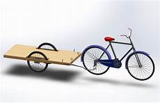 how to build a bicycle cargo trailer 7 steps with pictures
