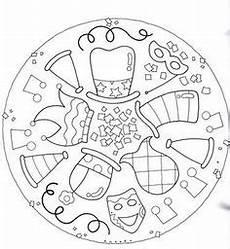 Ausmalbilder Fasching Mandala Ausmalbild Mandalas Mandala Verkleiden Kostenlos
