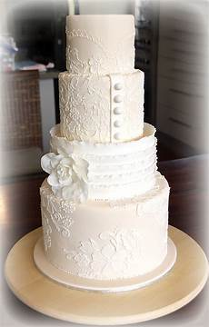 Lace Wedding Cake Tutorial Cakes