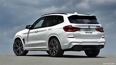 2020 bmw at4 white 2020 bmw x3 m competition color alpine white rear