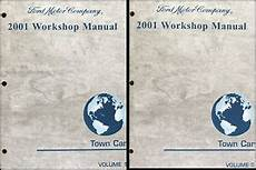 free auto repair manuals 1986 lincoln town car windshield wipe control 2001 lincoln town car factory repair shop manual set original service books ebay