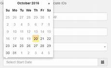 html move the position of bootstrap datepicker stack overflow