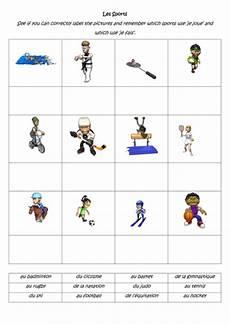 sports worksheets ks2 15817 je joue je fais sport worksheet by sarah2209 teaching resources tes