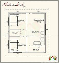 1 500 square foot house plans 500 square feet house plan with elevation architecture