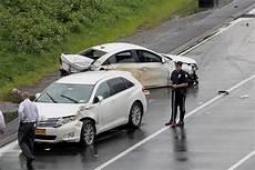back to back car crashes kill one injure four on
