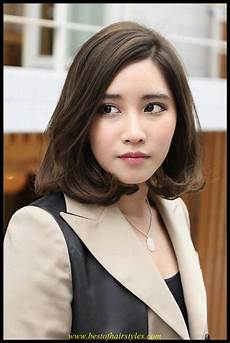 Medium Hairstyle Korean