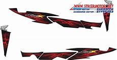 Modif Stiker Supra 125 by Supra X 125 Stikermotor Net