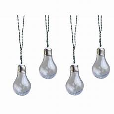 moonrays solar powered led clear vintage bulb string light 91137 the home depot