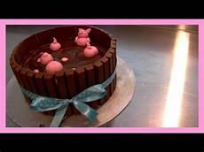 Kitkat Schweine Torte Mit Kinderschokolade Kitkat Pigs