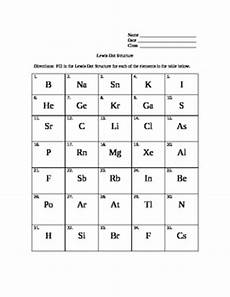 lewis dot structure lesson and worksheet by kizer tpt