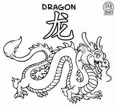 Ausmalbilder Chinesische Drachen Coloring Page Coloring Page