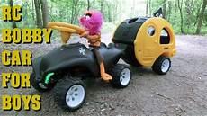 bobby car mit anhänger rc bobby car caravan trailer boys version muppets