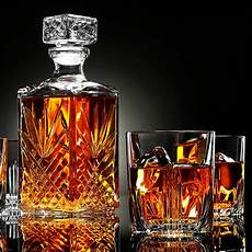 Whisky Glass Decanter Scotch Glasses Set 1