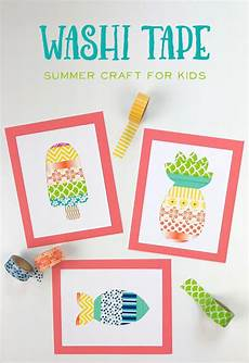 basteln sommer kinder 40 creative summer crafts for that are really