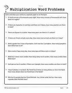 multiplication word problems worksheets for grade 1 11293 1 digit basic word problems multiplication word problems for 2nd grade word problems