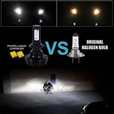 jdm astar 7000lm 8thgen h11 h8 6000k white led headlight