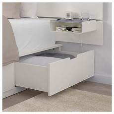 Ikea Nordli Bed With Headboard And Storage White In 2019