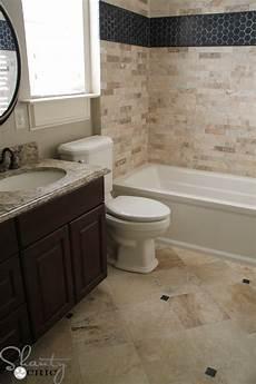 my bathroom tile reveal shanty 2 chic