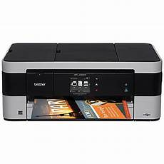 brother wireless color inkjet all in one printer copier scanner fax mfc j4420dw by office depot
