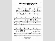 chords have yourself a merry little christmas
