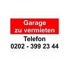 garage vermieten hinweisschild quot garage zu vermieten quot