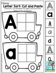 cut and paste letter worksheets for kindergarten 23464 pin on preschool