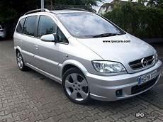 2004 Opel Zafira 2 2 Edition Car Photo And Specs