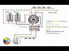 3 phase motor wiring in hindi urdu with animation diagram explain youtube