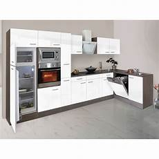 Kleine Küche Kaufen - respekta winkelk 252 che kbl370eywmisgke 370 cm wei 223 eiche