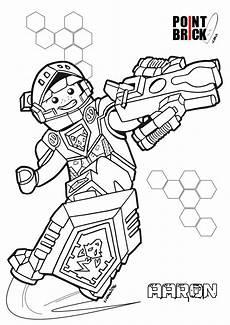 point brick disegni da colorare lego nexo knights e