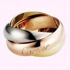 Bague De Cartier Gm 3 Ors 750