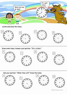 what s the time printable worksheets 3783 what s the time mr wolf worksheet free esl printable worksheets made by teachers