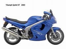 2003 Triumph Sprint St 2003 triumph sprint st moto zombdrive