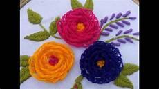 Embroidery Turkish Stitch Design Tutorial By