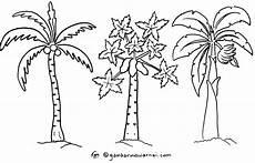 Gambar Pohon Kelapa Clip Cliparts Co Gambarmugo