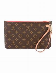 louis vuitton monogram neverfull pouch handbags