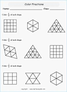 fraction worksheets for primary 3 3827 guess the fraction printable grade 4 math worksheet