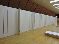 70 feet of lightweight high strength trade show display wall panels for back wall non warping